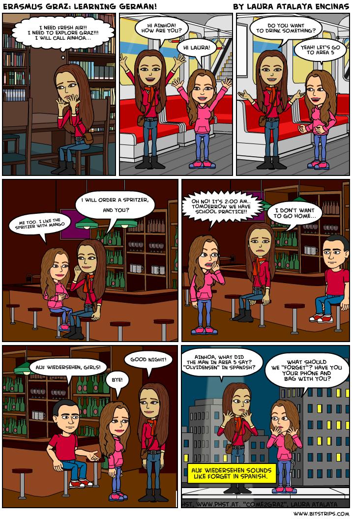 Comic von Laura Atalaya
