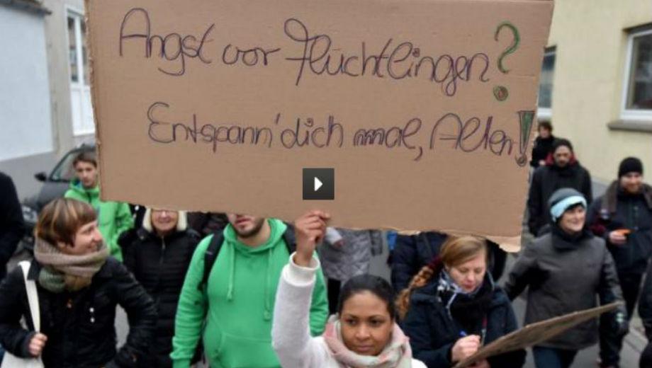 Angst vor Flüchtlingen? (Foto Screenshot vom Video)