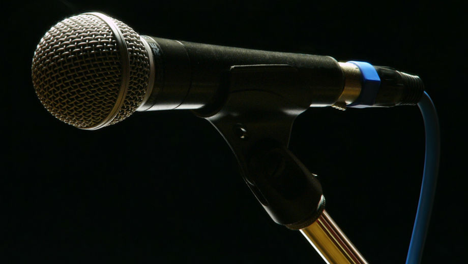 Microphone (Frederic Bisson CC by 2.0 https://www.flickr.com/photos/zigazou76/4120982543)