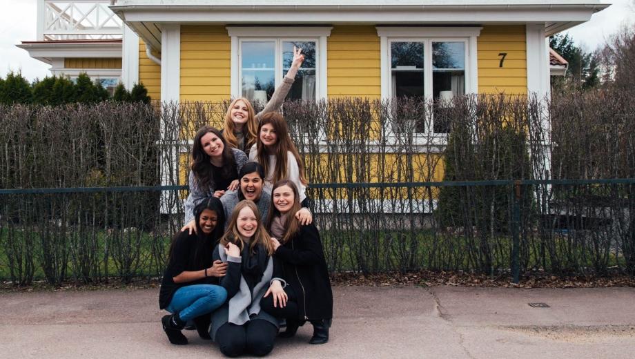 Fun in Sweden (Photo by Lena Aldrian)