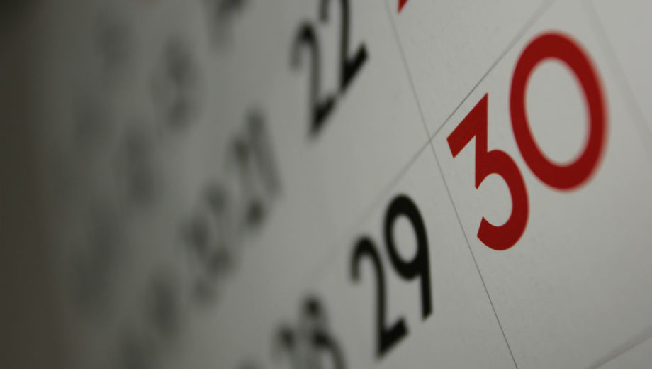 Calendar (CC BY 2.0 Dafne Cholet/ https://www.flickr.com/photos/dafnecholet/5374200948)
