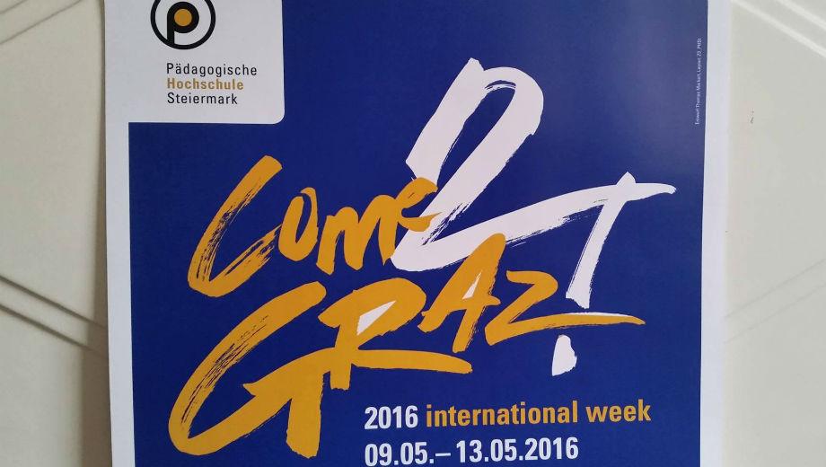 Come2Graz (Foto vom Plakat / Entwurf: Thomas Markart)
