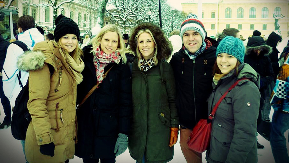 Internationale Studierende in Karlstad (Foto Corina Hechl)