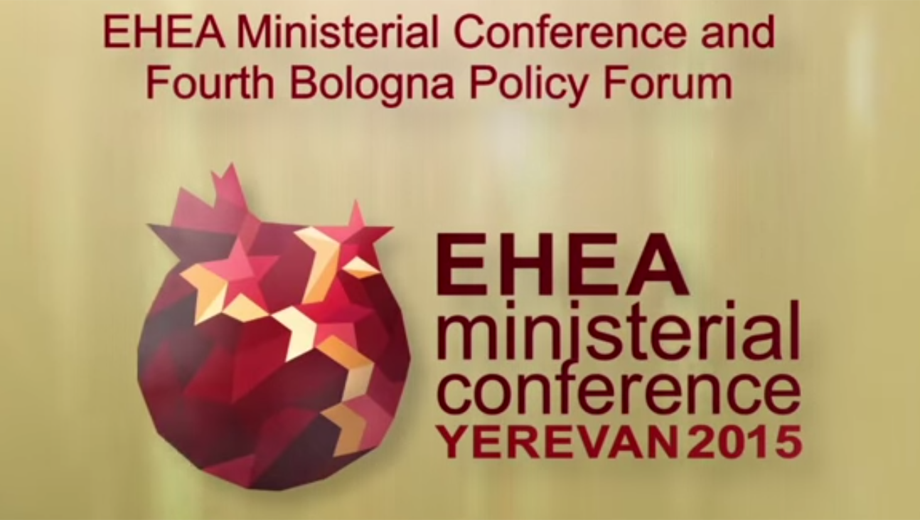 EHEA Ministerial Conference Yerevan 2015 (Image YouTube Screencopy)