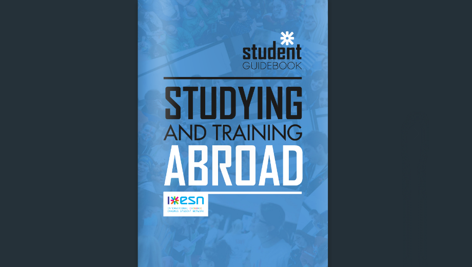 ESN Student Guidebook (Bild Screenshot)