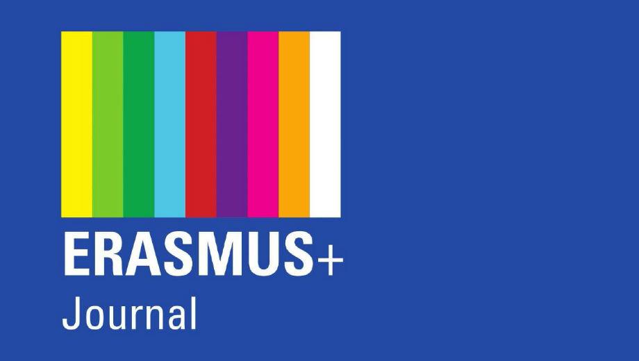 Erasmus+ Journal (Screenshot)