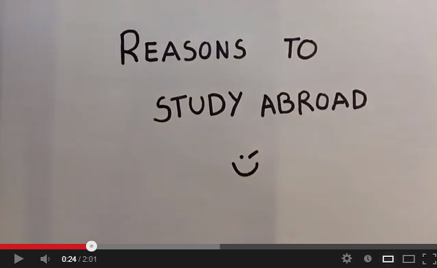 Erasmus Video: Reasons to Study Abroad