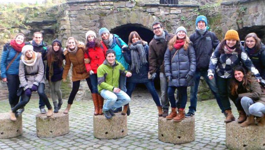 Erasmusstudierende der Katholieke Pabo Zwolle, Niederlande (Foto Anna Schenn)