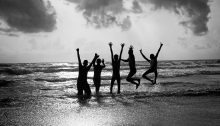 Joyful Group (CC BY 2.0 by Vinoth Chandar/https://www.flickr.com/photos/vinothchandar/14967475145)