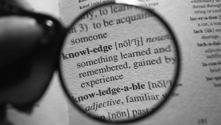 Knowledge (CC BY 2.0 by Sandy Roberts/https://www.flickr.com/photos/sandyhardmanroberts/7967019132)