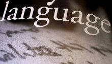 Language (Image CC 2.0 by Shawn Econo /https://www.flickr.com/photos/shawnecono/149172094)
