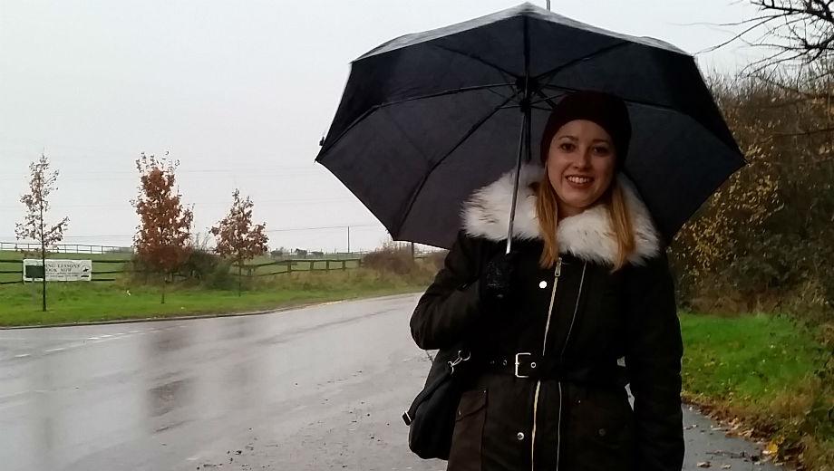 Bis jetzt noch sehr selten: ein Regentag in England ( Photo by Nadine Bührlen)