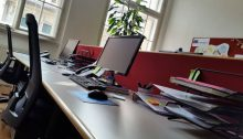 Office (Photo by Flora Bodrogi)