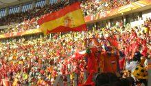 Spanish flag (Photoy by desrie.govender / https://www.flickr.com/photos/desrie_govender/4720856210)
