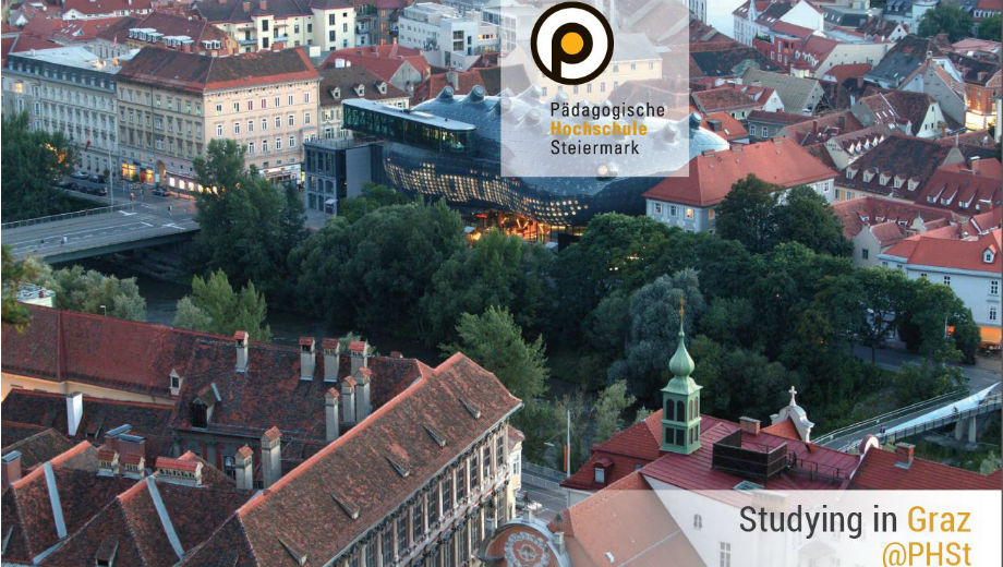 Studying in Graz (Photo Screenshot from the Brochure)