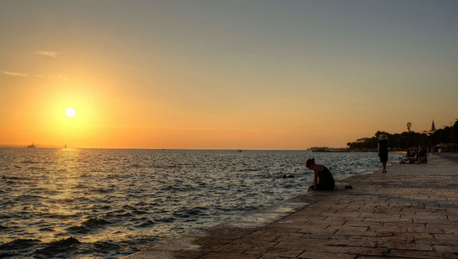 Sunset in Zadar (CC BY 2.0 by Min Zhou/https://www.flickr.com/photos/125945909@N05/19805722414)