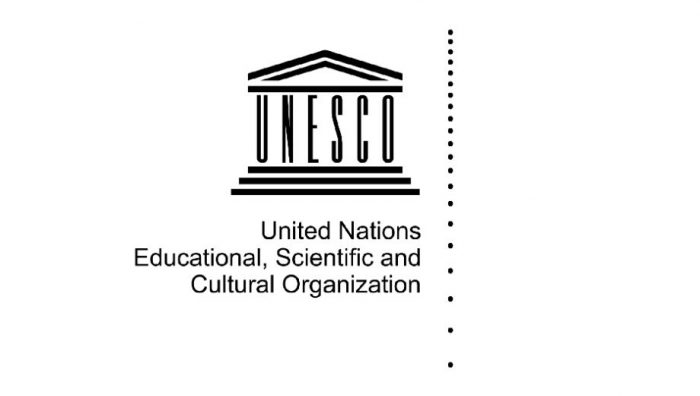 UNESCO (Mangus Manske CC by 2.0 https://commons.wikimedia.org/wiki/File:UNESCO.svg)