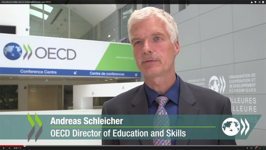 Andreas_Schleicher OECD (Iamge: screen copy)