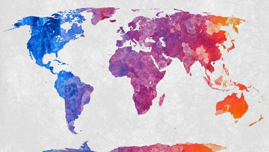 World Map (Image CC BY 2.0 Nicolas Raymond /https://www.flickr.com/photos/80497449@N04/10012162166)