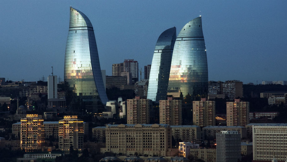 Flame Towers of Baku (Image CC by wilth, https://www.flickr.com/photos/wilthnet/