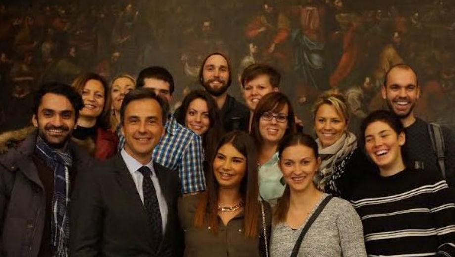 Mayor's reception (Photo by Tineri Rodriguez)