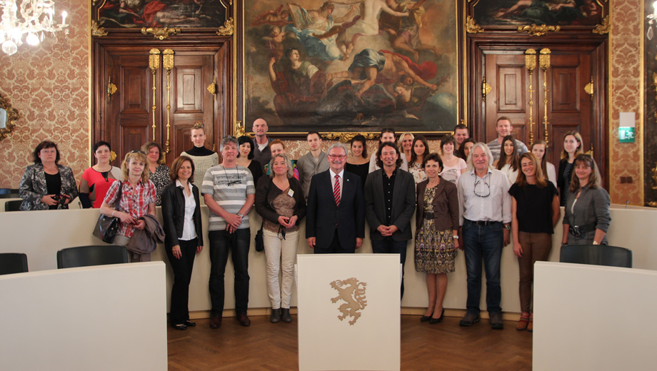 come2graz - guided tour and reception with Franz Majcen (Image Christoph Tropper)