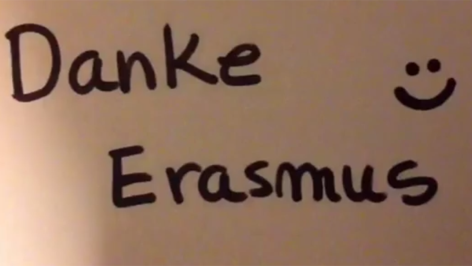 Erasmus+ ( Image Screenshot von Youtube)