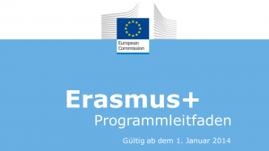 Erasmus+ Programmleitfaden