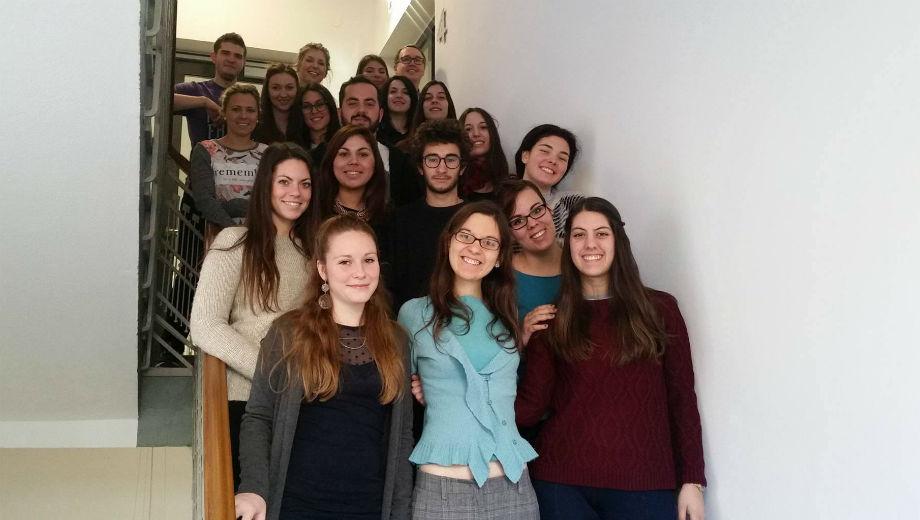 Gruppenfoto (Foto von Flora Bodrogi)