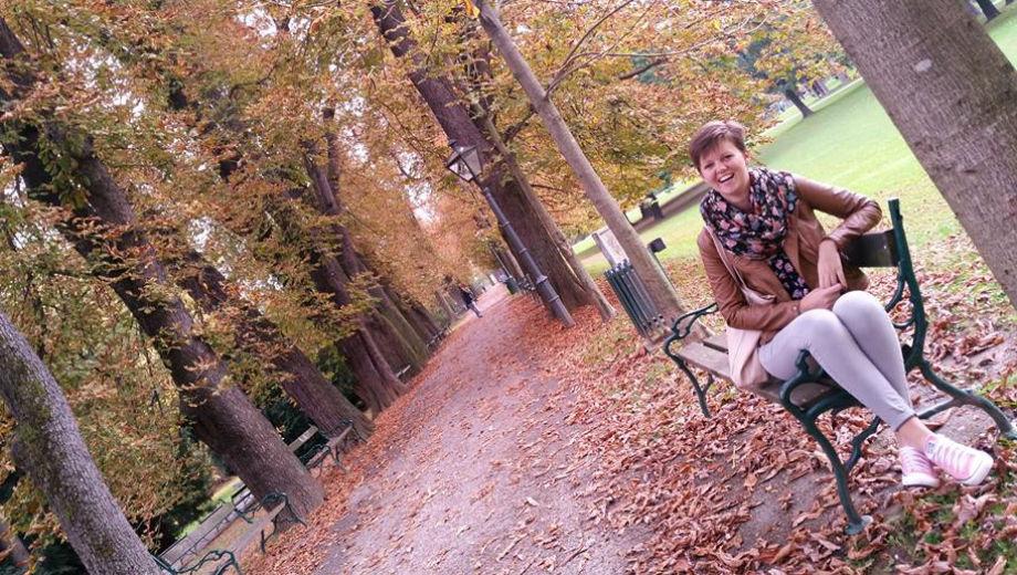 Erasmus-Praktikantin in Graz (Photo by Flora Bodrogi)
