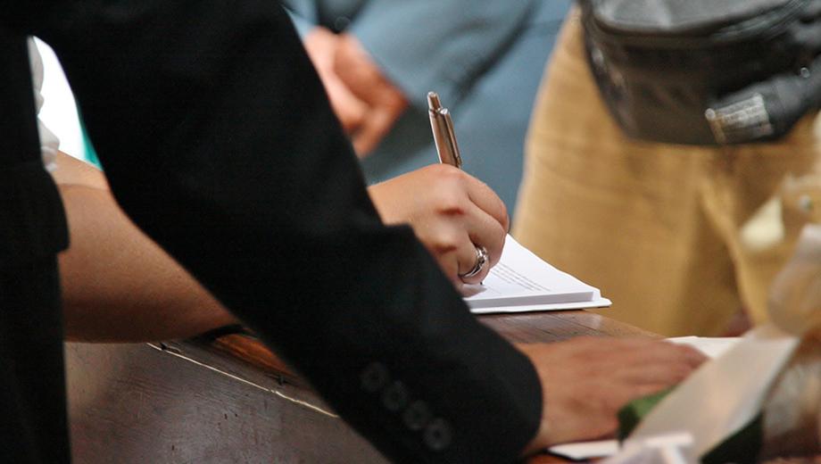 Unterschrift (CC BY 2.0) Conanil